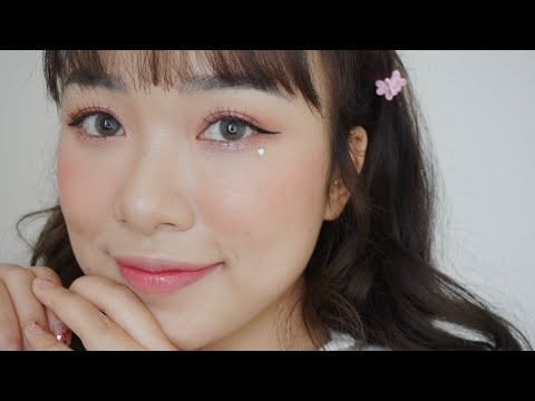 LOVELY CHERRY BLOSSOM MAKE UP | LINGMAKEUP X INNISFREE