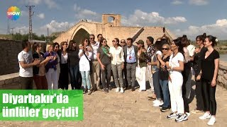 Diyarbakır'da ünlüler geçidi!