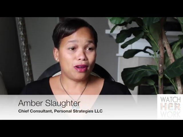 Health: If You Cry At Work, Amber Slaughter | WatchHerWorkTV