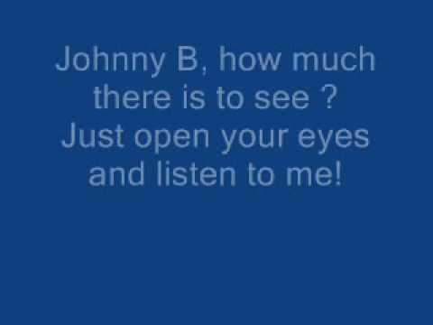 The Hooters - Johnny B Lyrics
