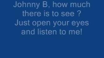 The Hooters - Johnny B Lyrics