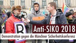 AntiSIKO 2018 - Demo gegen die Münchner Sicherheitskonferenz