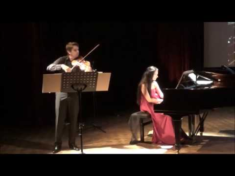 BELA BARTOK : Romanian Folk Dances for Violin and Piano SZ.56
