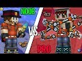 STUPID NOOB VS LEGENDARY Pro - Pixel Gun 3D (Super Funny)