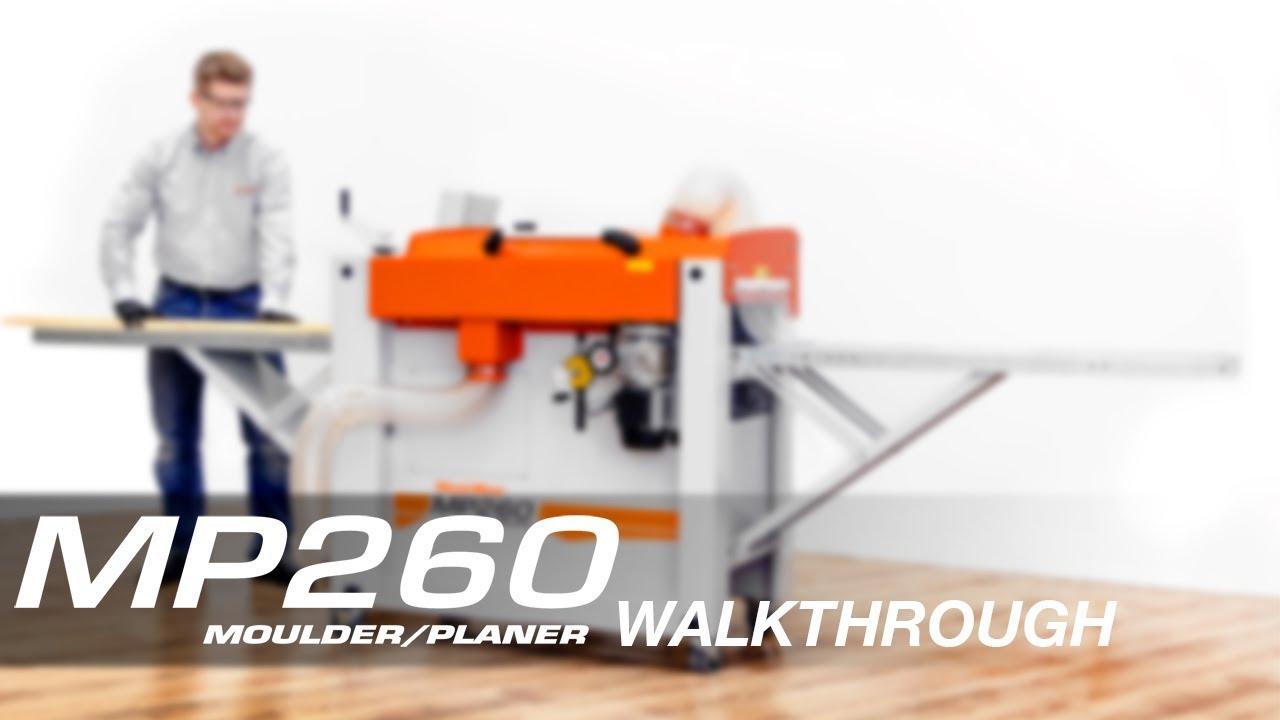 MP260 Four-sided Planer/Moulder Walkthrough   Wood-Mizer
