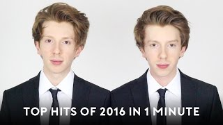 Top Hits of 2016 in 1 minute