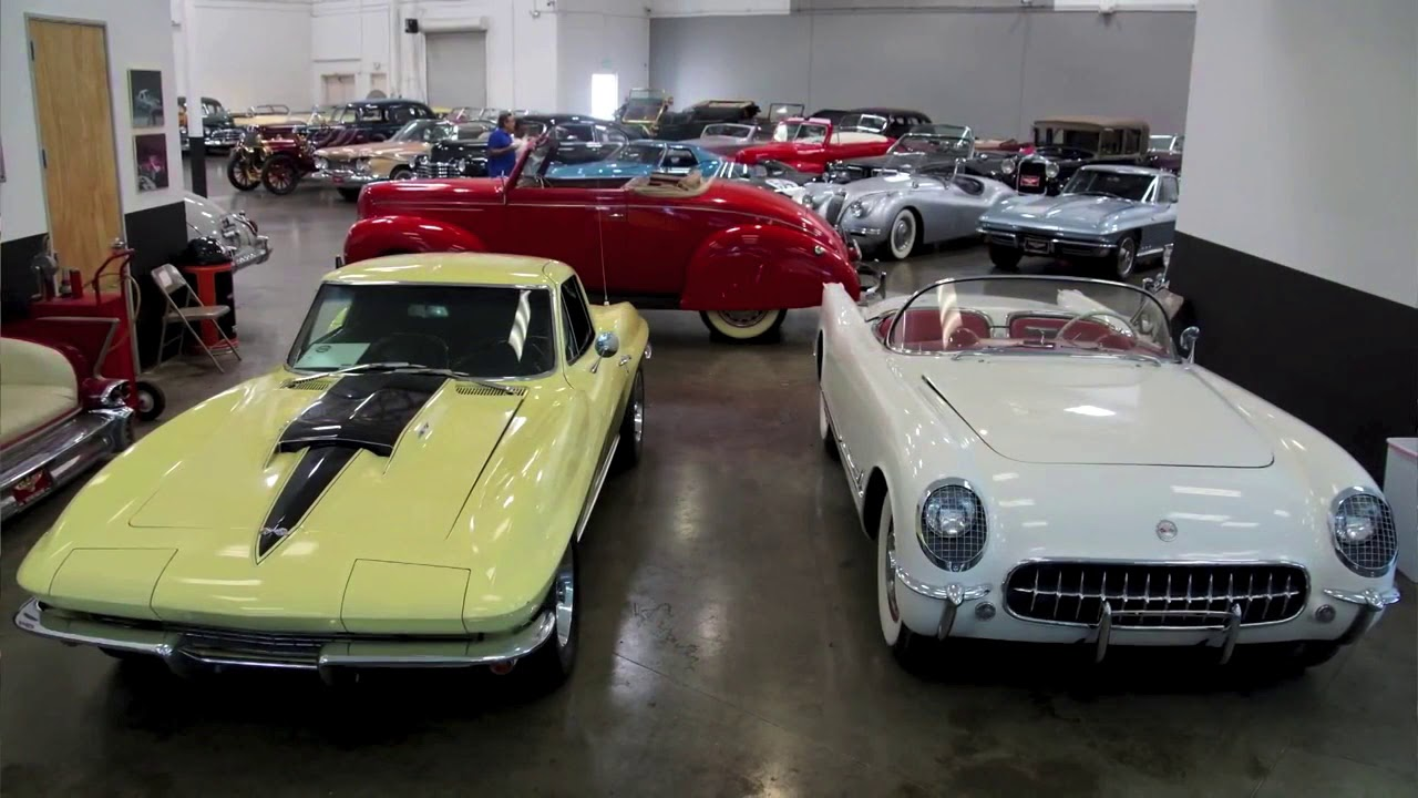 2018 Collector Car Auction at the Convention Center - YouTube