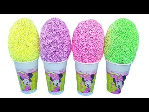 Minnie Mouse! Uova con sorprese! Nuova pasta modellante colorata! Giochi per bambini!