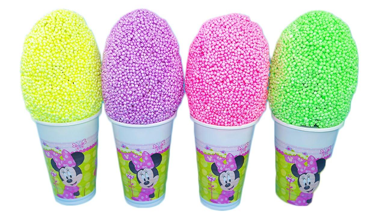 Download Minnie Mouse! Uova con sorprese! Nuova pasta modellante colorata! Giochi per bambini!