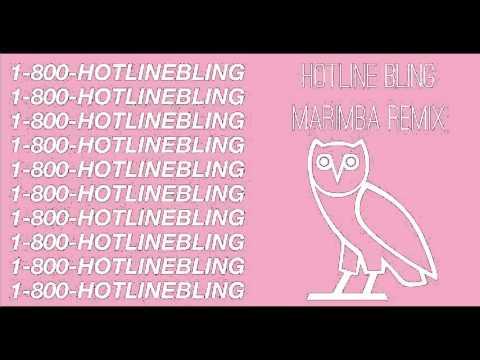 DRAKE - HOTLINE BLING (MARIMBA REMIX) RINGTONE *FREE DOWNLOAD*