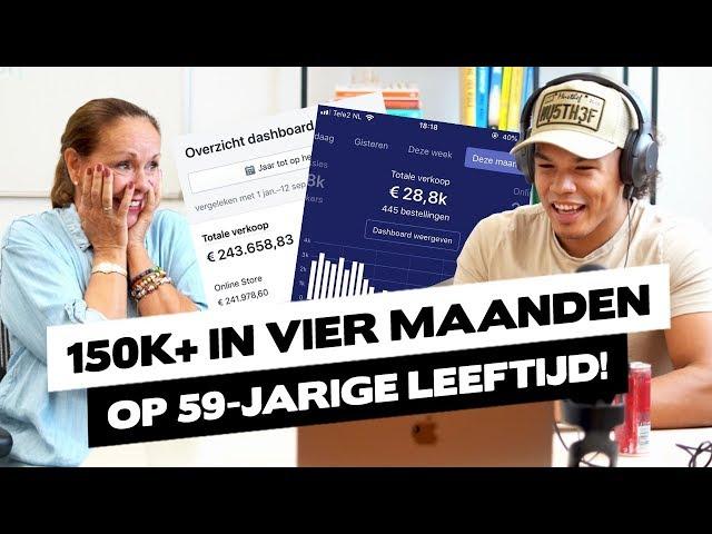 €150K+ IN VIER MAANDEN OP 59-JARIGE LEEFTIJD!