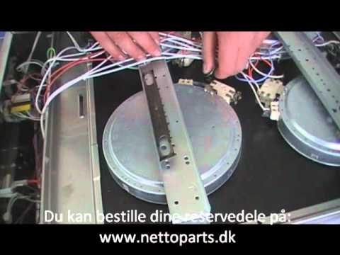 Videoguide: Udskiftning af kogezone på komfuret | Sådan gør du! - YouTube