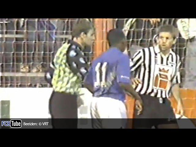 1991-1992 - Jupiler Pro League - 15. Club Brugge - SC Charleroi 1-1