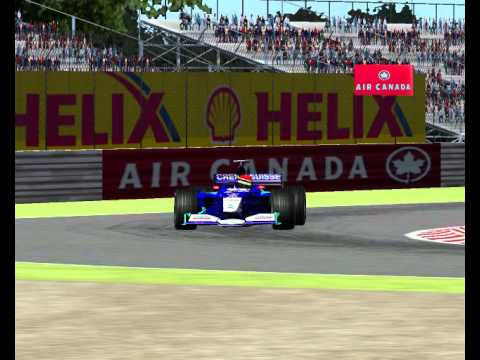 2001 Montreal du Canada quebec Canadian Grand Prix full Race Formula 1 Season Mod F1 Challenge 99 02 game year F1C 2 GP 4 3 World Championship 2013 2014 2015 201626 17 06 42 19