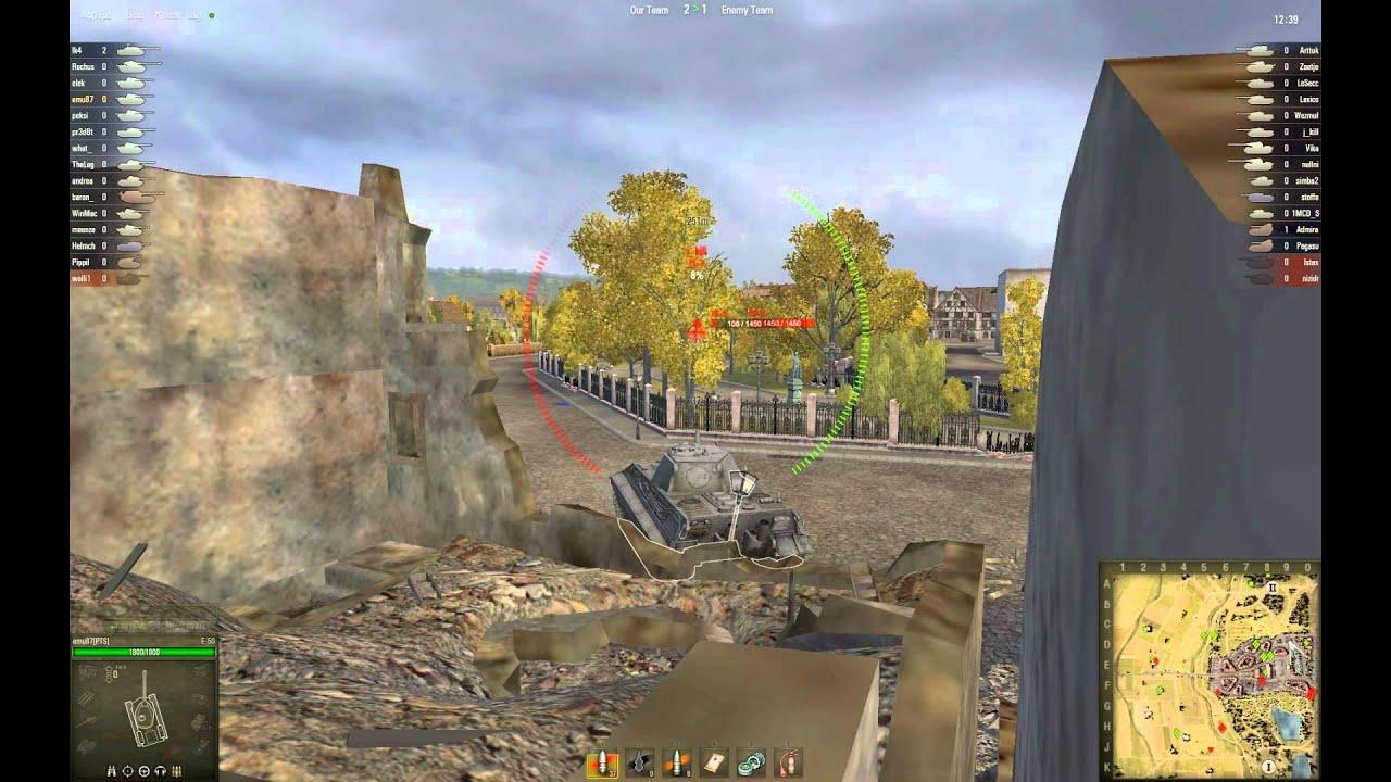 World of Tanks EU: E-50 gameplay #1