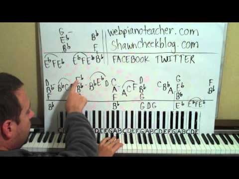 Piano Lessons In The Key Of B Flat