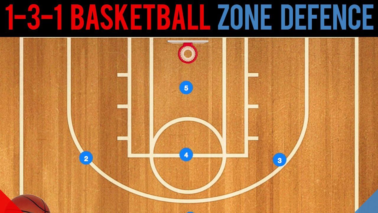 how to break the 1-3-1 zone