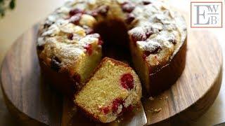 The BEST Raspberry Almond Cake