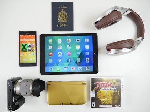 TECH Travel Bag GUIDE