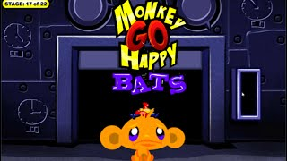 Monkey GO Happy Bats Walkthrough