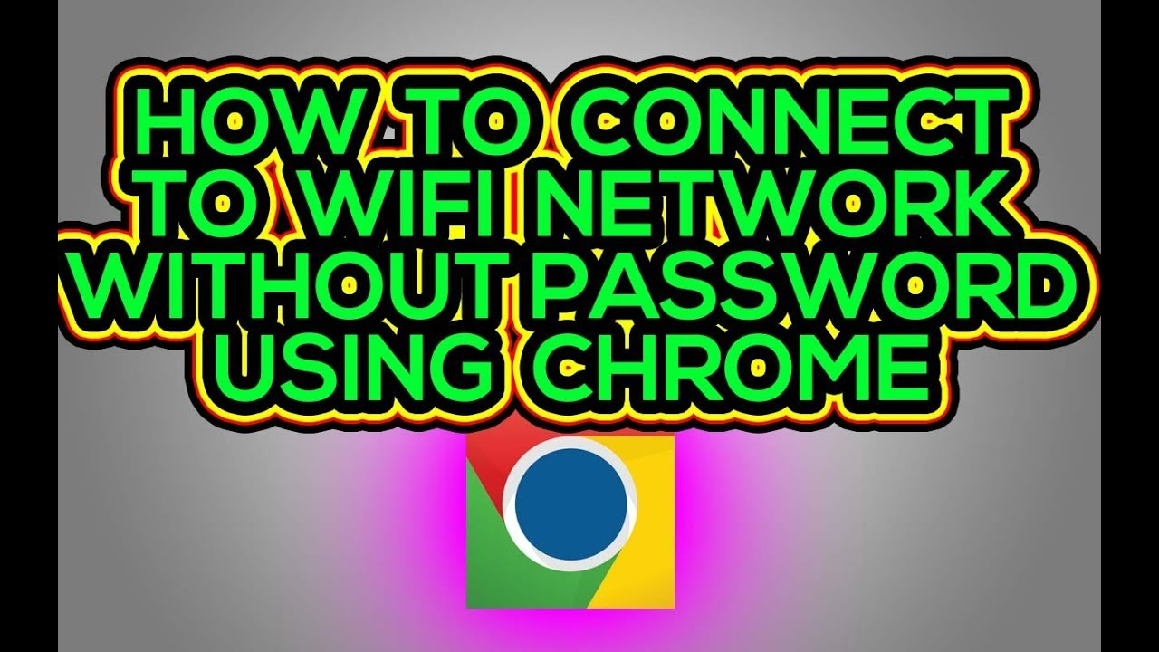 How to hack Wifi using Chrome[using Anonymous App]