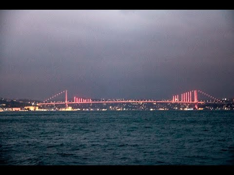 """Turkish   night "" - cruise  on the Bosphorus"