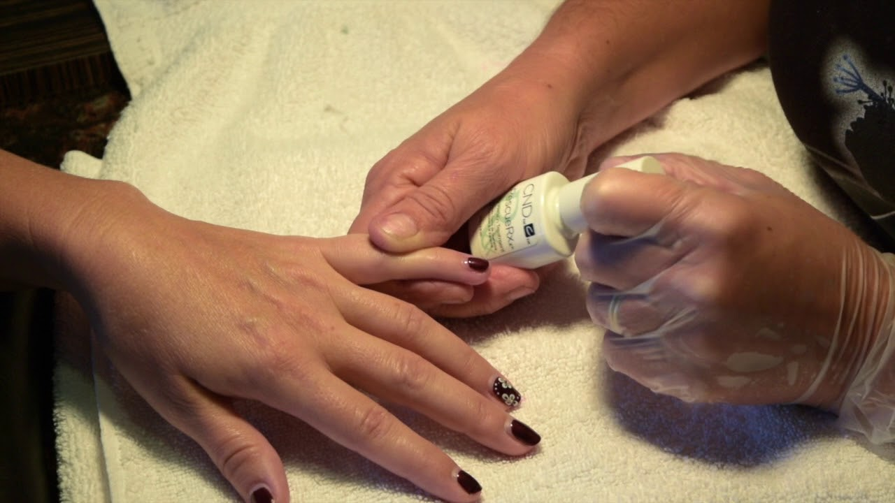 Make Your Nails Strong and Healthy with CND Rescue RXx™ How To By ...