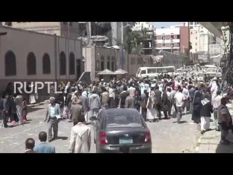 Yemen: Scores rally in Sanaa against alleged Saudi-led airstrike