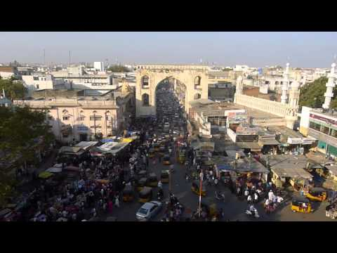 Worldview Charges Through Hyderabad Traffiic