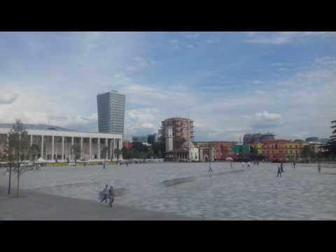 Discover Tirana Skenderbeg Square