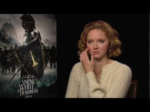 Lily Cole Interview -- Snow White And The Huntsman
