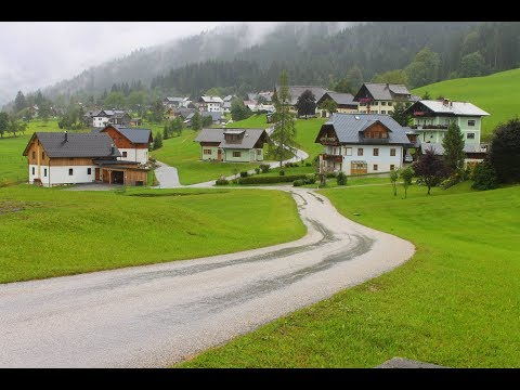 The Beauty of Austria :  Drive to Hallstatt. ( Pesona Keinda