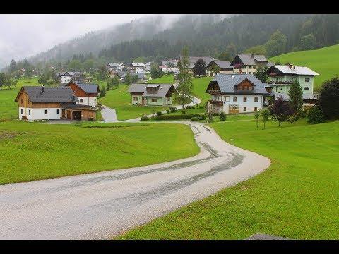 The Beauty of Austria :  Drive to Hallstatt. ( Pesona Keindahan alam pedesaan di Austria)