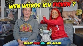 Lexy Roxx -Wen würde ich f*cken ? ... Marry Fuck Kill mit Aaron