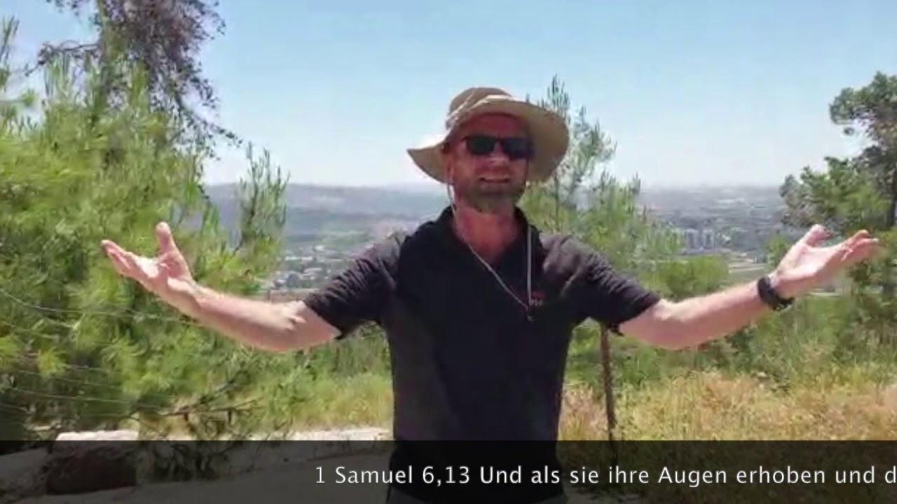 Maximillian Shemesh: Schabbatgruß Am Grab Von Simson, Tzora-Wald (08.05.2020