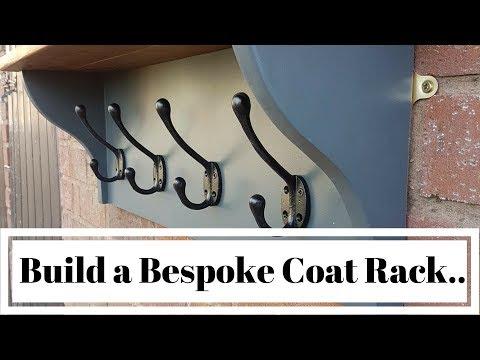 How to build a bespoke coat/hat rack. Self build