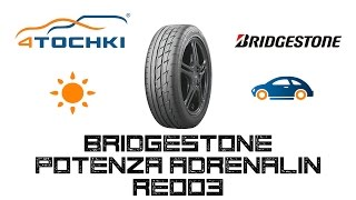 видео Bridgestone Potenza RE003 Adrenalin