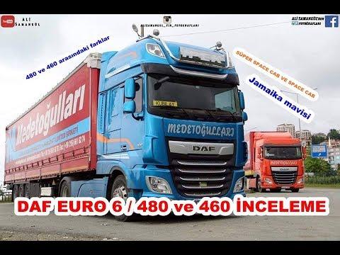 DAF EURO 6/480 vs 460 / SUPER SPACE CAB PROMOTION / EXAMINATION