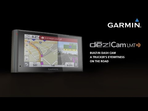 Garmin DēzlCam: Your Trucking Navigator With Built-in Dash Cam