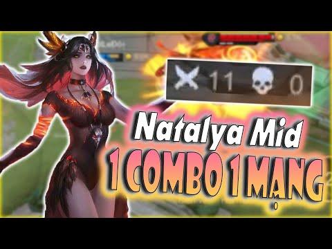 [Liên Quân] Vác Natalya Đi Mid Dồn Dame Cực Thốn - 1 Combo 1 Mạng Dễ Dàng