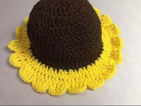 Móc mũ hoa hướng dương ( phần 1)