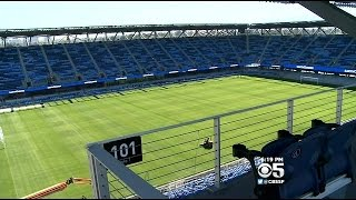 San Jose Earthquakes' Avaya Stadium Set For Its Debut