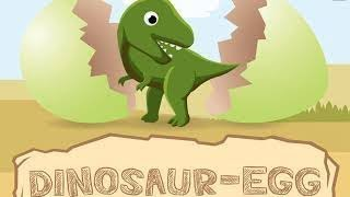 Learning Dinosaur Names and Facts For Kids- Surprise Egg