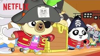 Chip & Potato's Pirate Treasure Play | Chip & Potato 🐶🐭 Netflix Jr