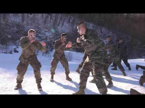 [해병대] 한ㆍ미 해병대 연합 동계전술훈련