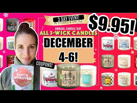 BATH AND BODY WORKS CANDLE DAY 2020! TIPS/TRICKS/COUPONS!  GET READY😳