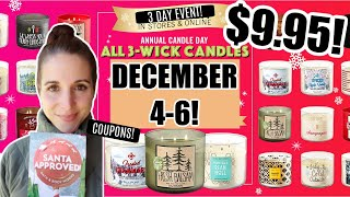 <b>BATH AND BODY WORKS</b> CANDLE DAY 2020! TIPS/TRICKS ...
