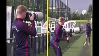 DE BRUYNE Funny moments in TRAINING !!!