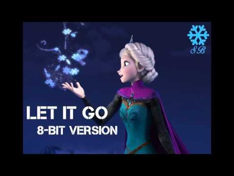 ♪ Let It Go ~Movie Version~ Simple 8Bit Version  Frozen