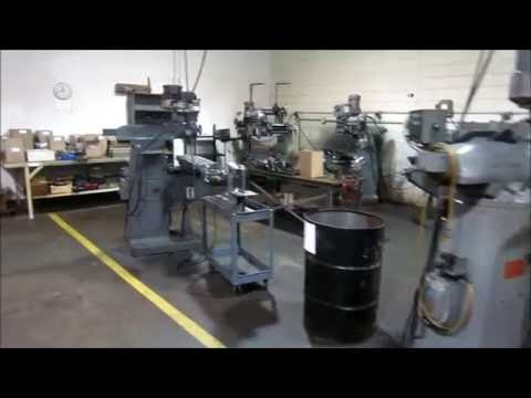Machine Shop Auction - Classic Machine Closing - Online At Www.machinesused.com